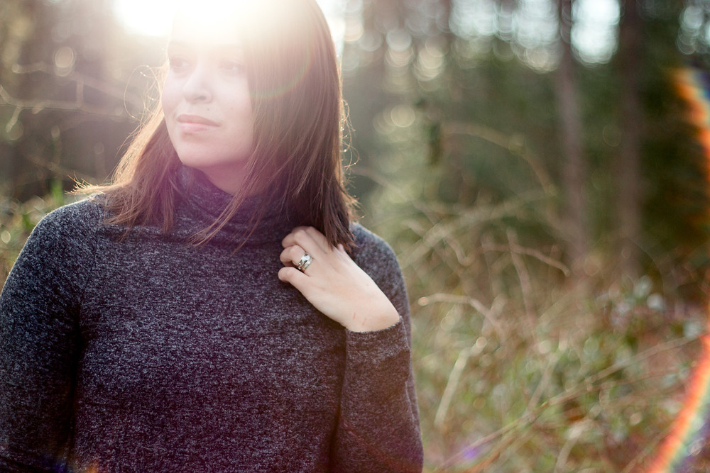 Maryland Photographer Self Portrait - Embracing the sunflare in the Morning Light