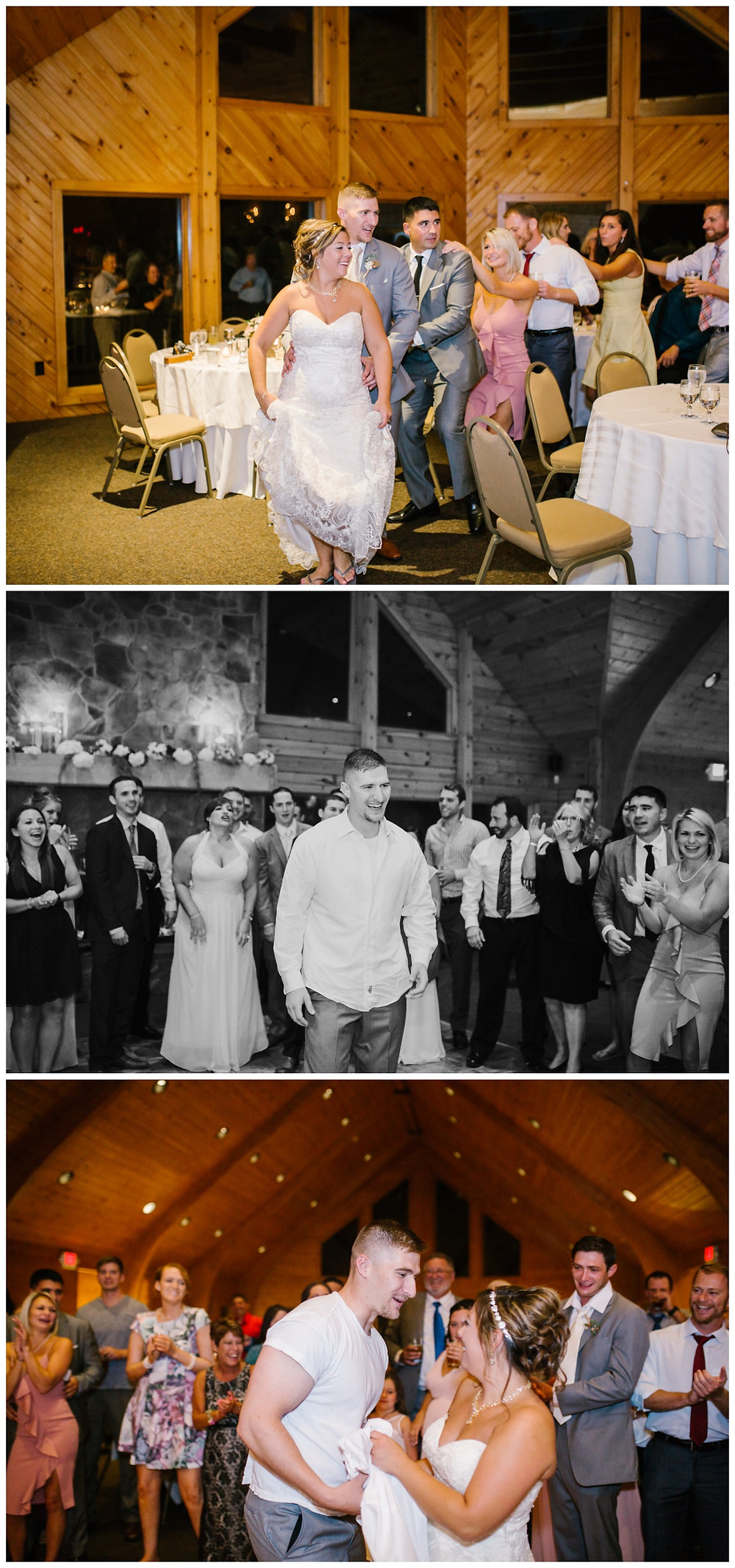 Dancing - Liberty Mountain Boulder Ridge Lodge Wedding - Maryland Wedding Photographer - Katherine Elizabeth Photography