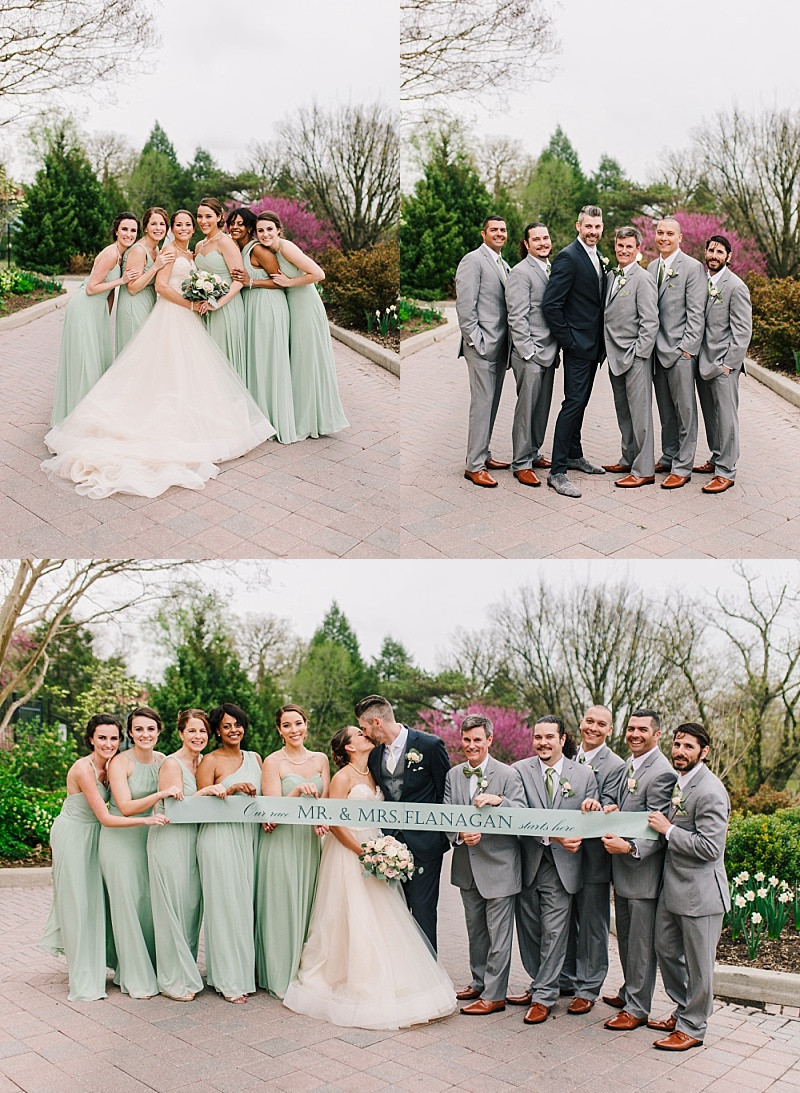Spring Baltimore Wedding