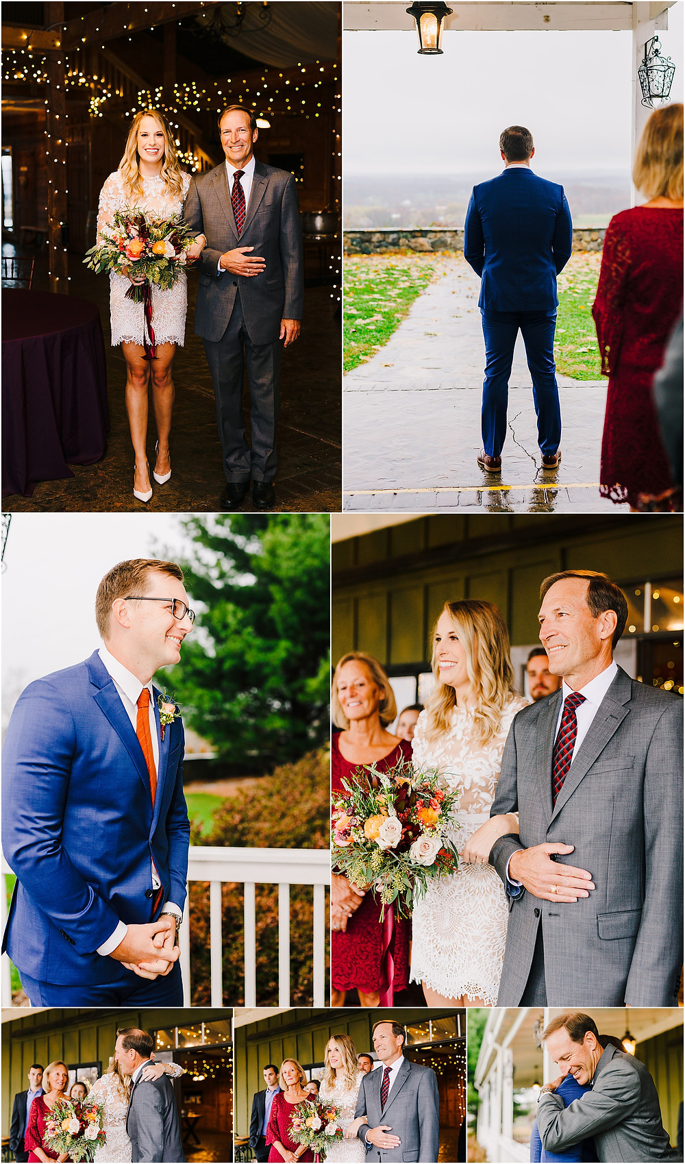 Maryland Elopement Photographer Bluemont Vinyard Elopement Ceremony