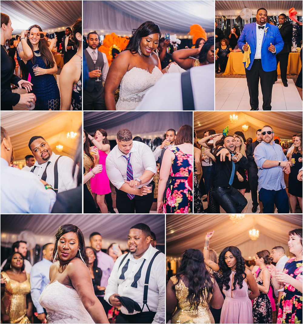 Baltimore Wedding Photography - Jamaican American Wedding Reception
