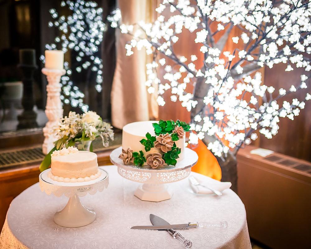 Cake Overhills Mansion Reception Maryland Wedding Photographer