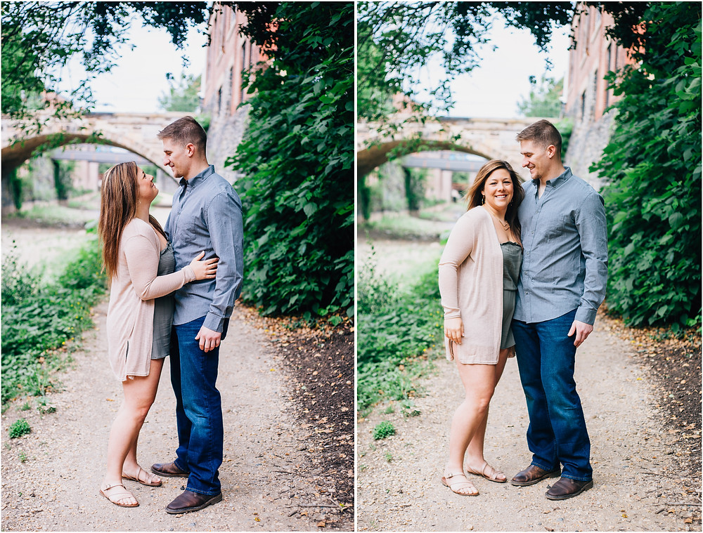 Georgetown Canal Engagement Session - D.C Wedding Photography