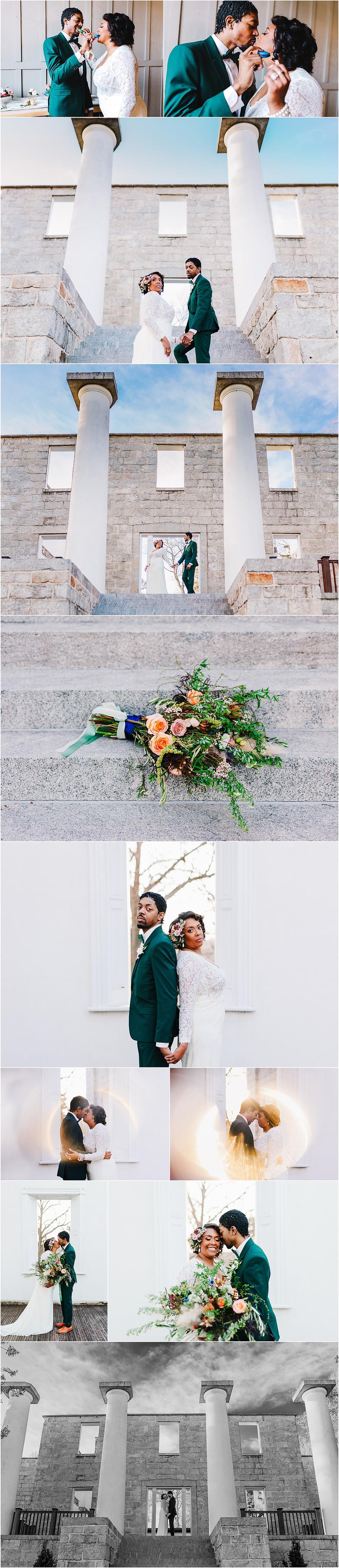 Patapsco Female Institue Wedding Photographer. Baltimore Elopement Photographer