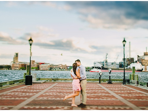 Fells Point Engagement Session | Molly + Michael | Baltimore Wedding Photographer