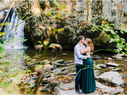 Rock State Park Engagement | Elise + Nick | Maryland Wedding Photographer