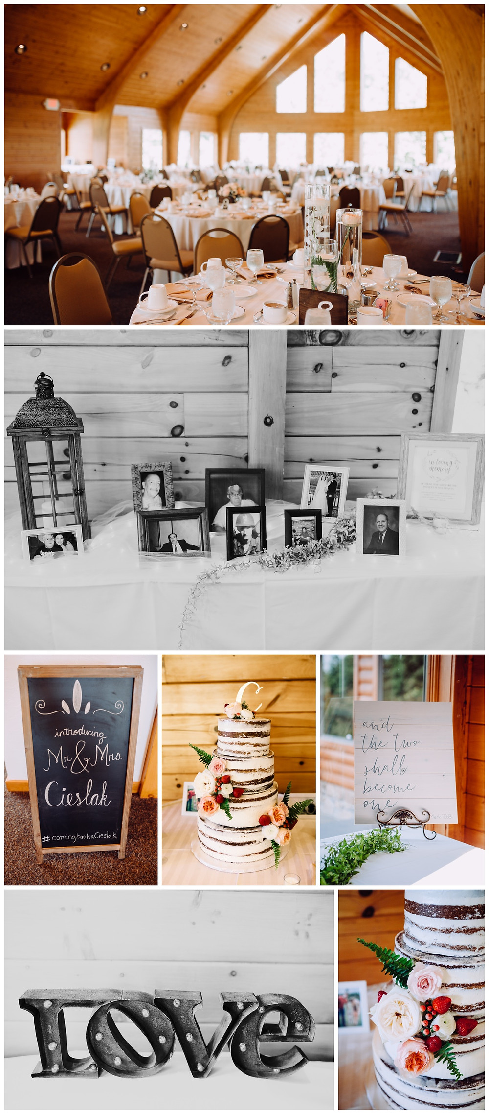 Reception Details - Liberty Mountain Boulder Ridge Lodge Wedding - Maryland Wedding Photographer - Katherine Elizabeth Photography