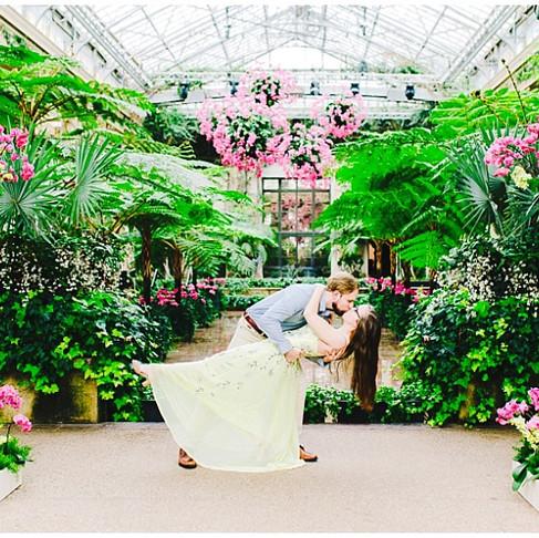 Longwood Gardens Engagement Portraits | Kerra + Mike | Baltimore Wedding Photographer