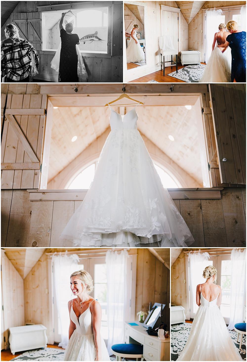 Bride Getting ready space - Bohemia Overlook Wedding Beach Venue