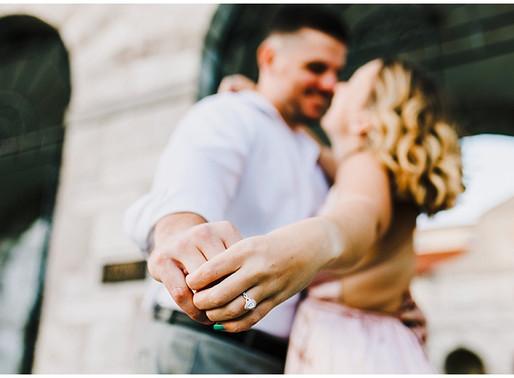 Ellicott City Engagement Portraits | Miranda + Jordan | Baltimore Wedding Photographer