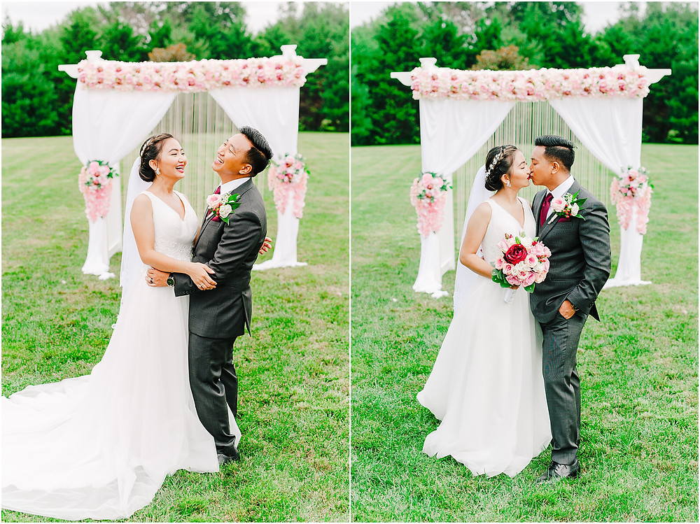 Burmese Wedding in Frederick Maryland Couple Portrait