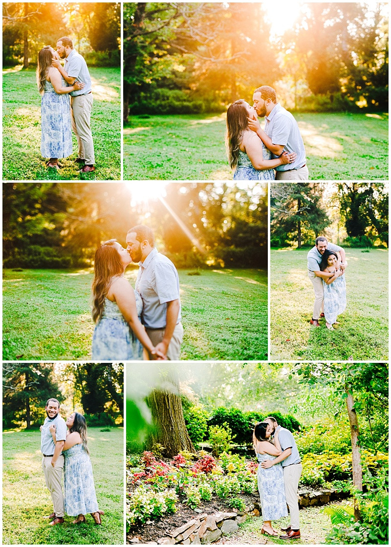 Maryland Sunset Engagement Session