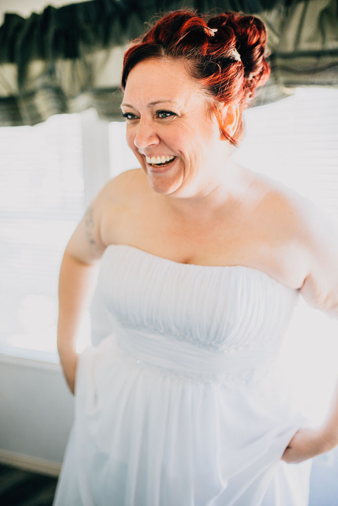Joyful bride - Maryland Wedding Photographer - Katherine Elizabeth Photography