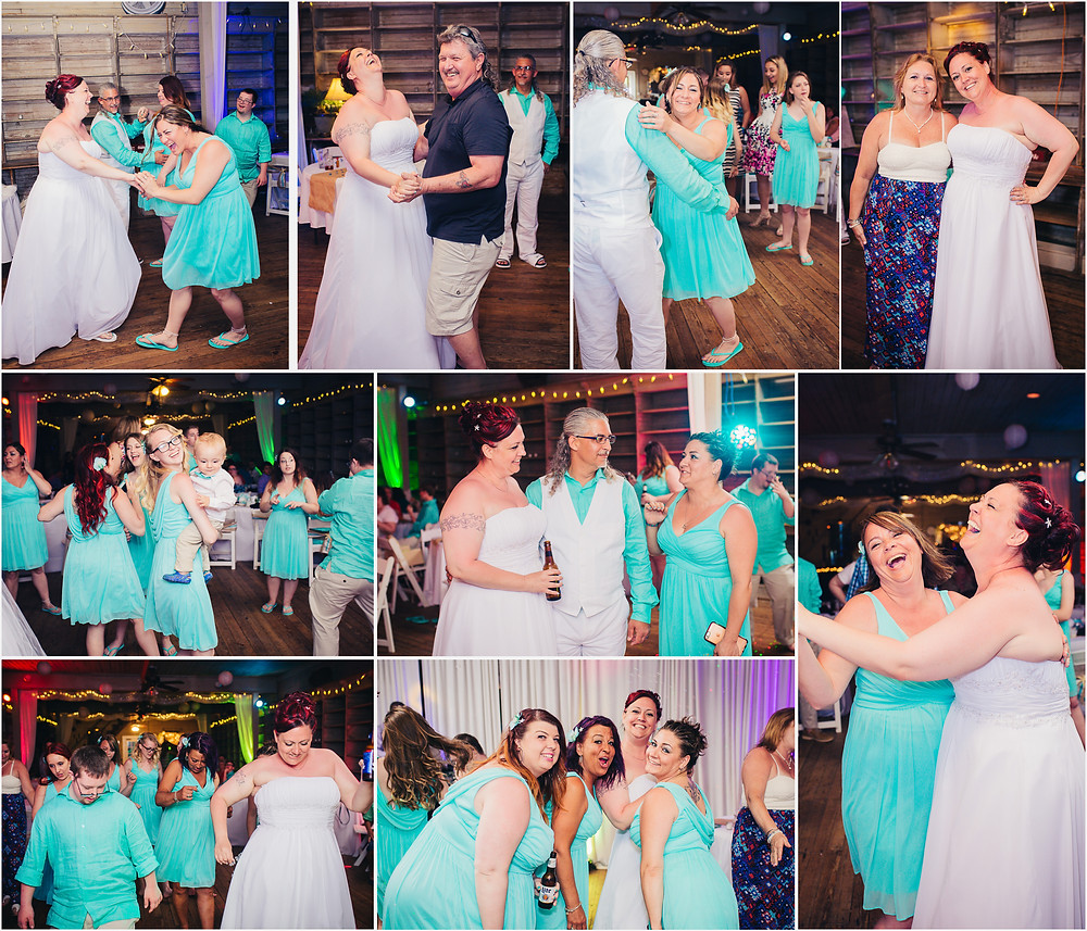 Dance Party! Maryland Wedding Photographer - Katherine Elizabeth Photography