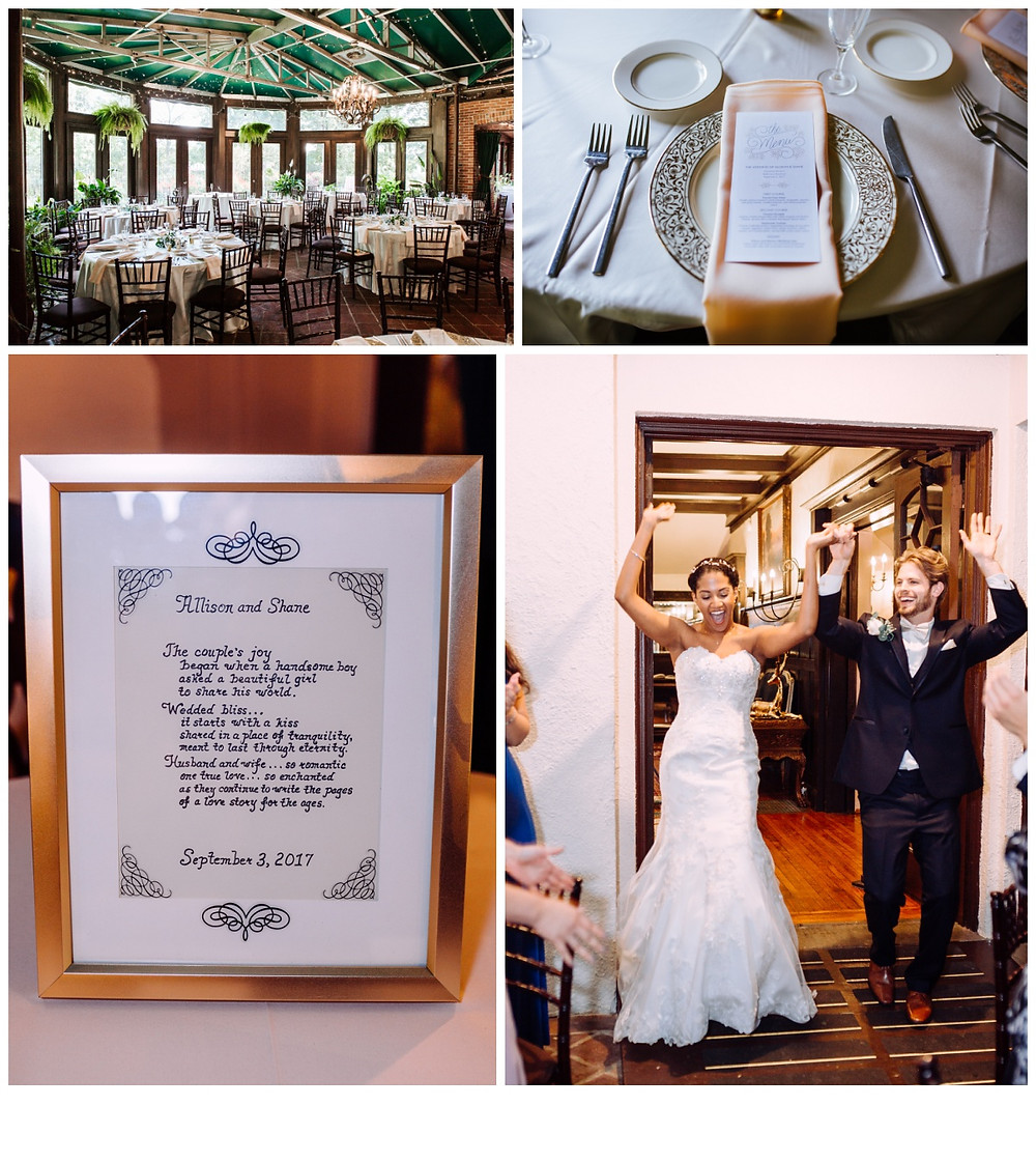 Wedding Details at Gramercy Mansion by Baltimore Wedding Photographer Katherine Elizabeth Photography,