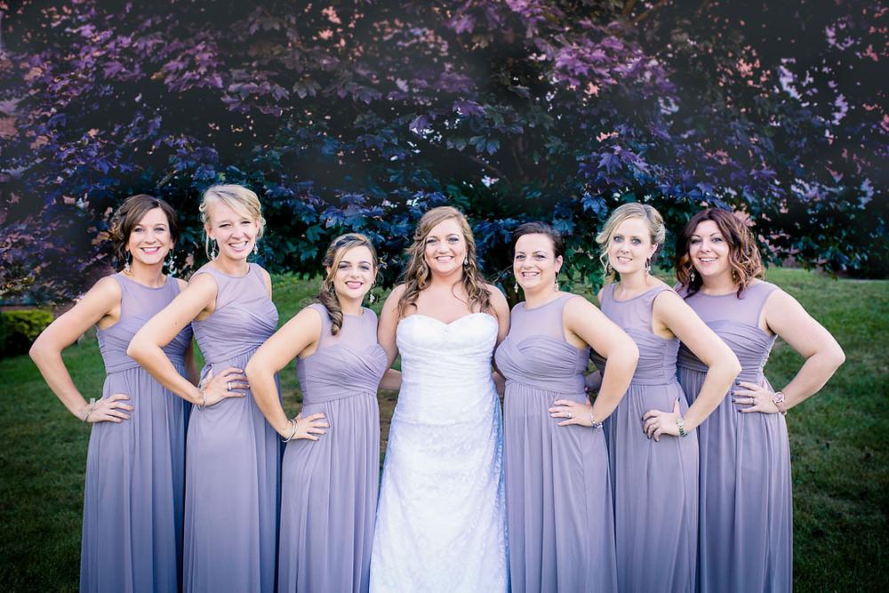 Bridesmaids Overhills Mansion Baltimore Wedding