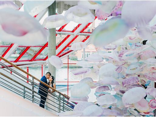 National Aquarium Wedding | Kristina + Adam | Baltimore Wedding Photographer