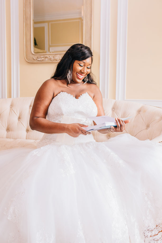 Beautiful Smiling Bride - Oxon Hill Manor Wedding