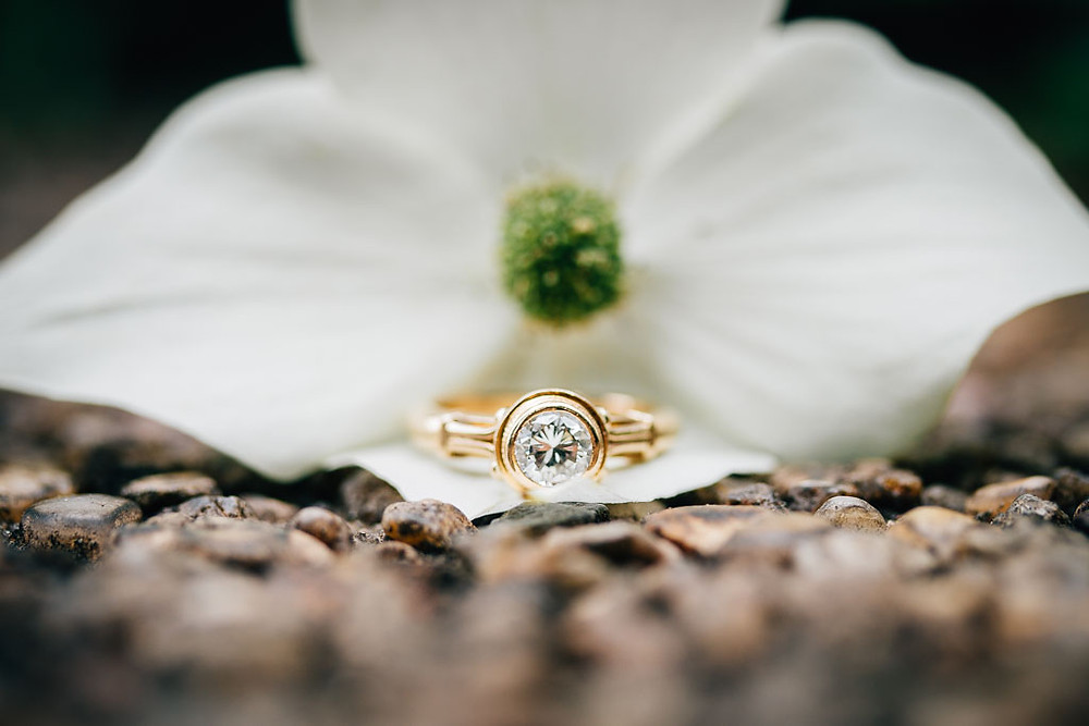 D.C Engagement - Dogwood Ring Macro - Maryland Wedding Photography