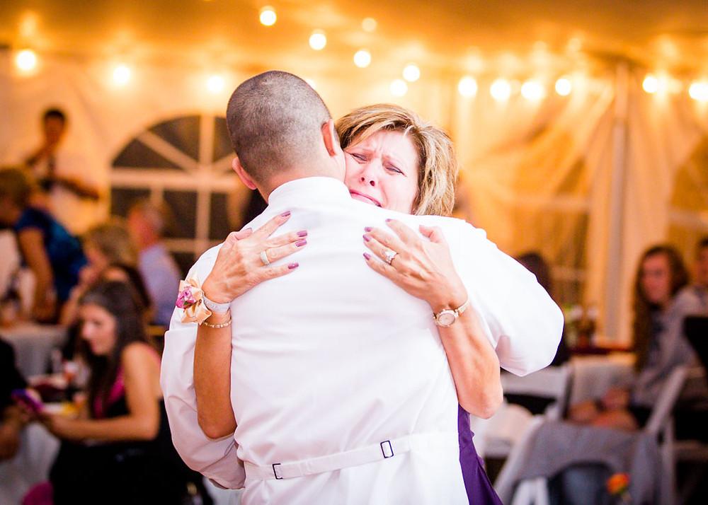 Baltimore Wedding Day Mother Son Dance