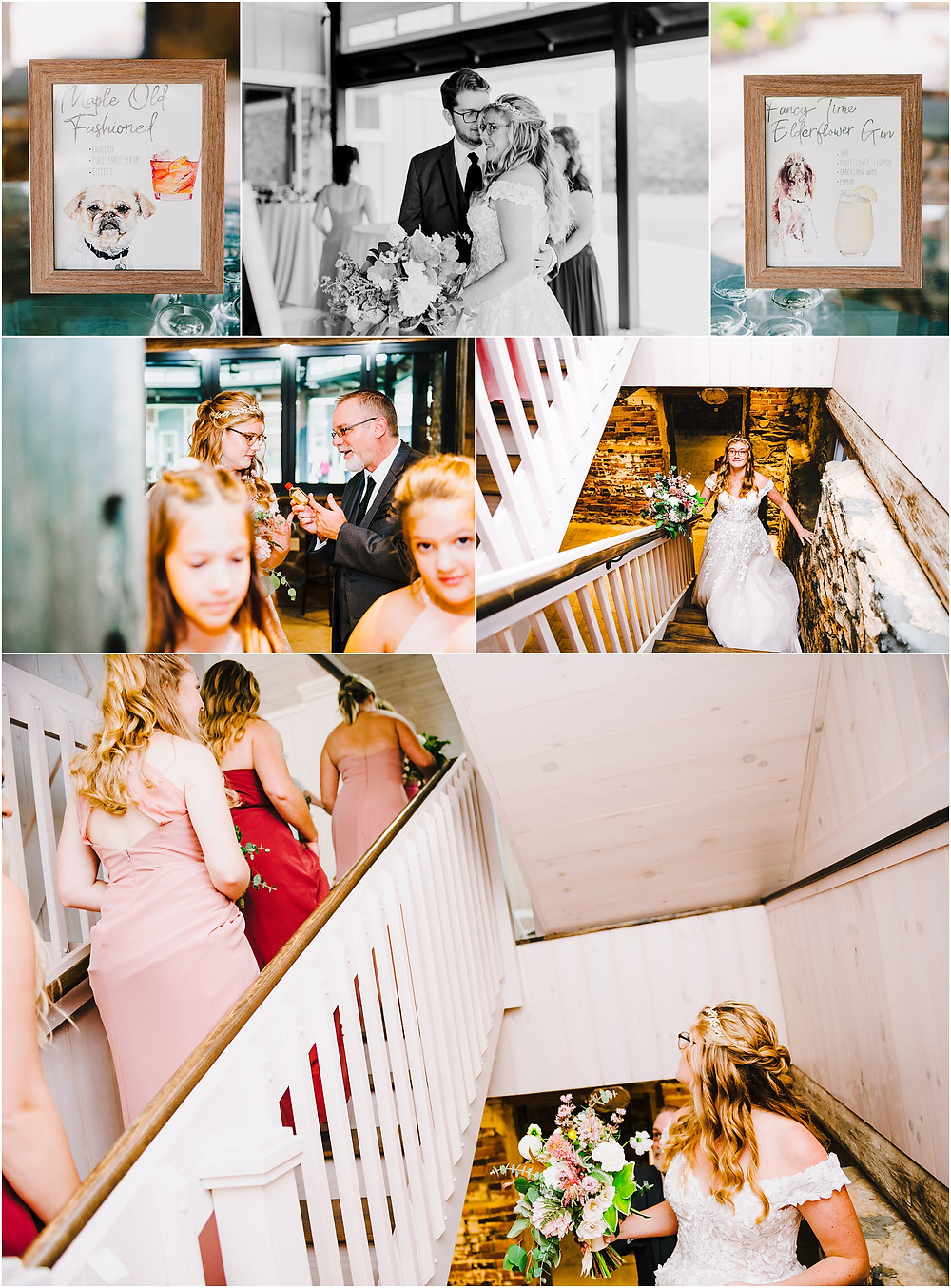 Moments before Rosewood Farms Ceremony, Maryland Wedding Photographer