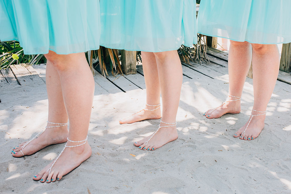 Barefoot brides - Maryland Wedding Photographer - Katherine Elizabeth Photography