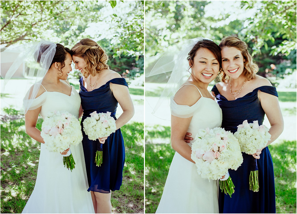 Baltimore Wedding - Bride and her Best Friend - Baltimore Wedding Photography