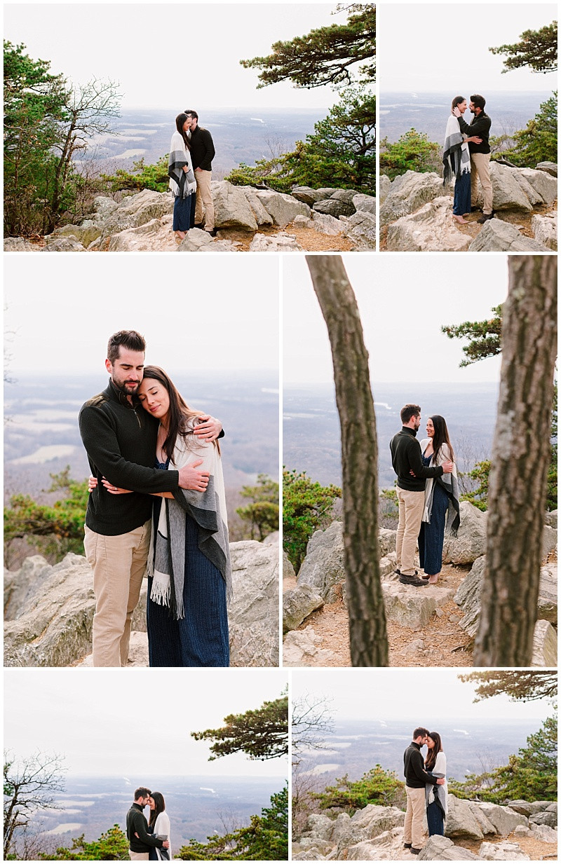 Sugarloaf Mountain Engagement Session