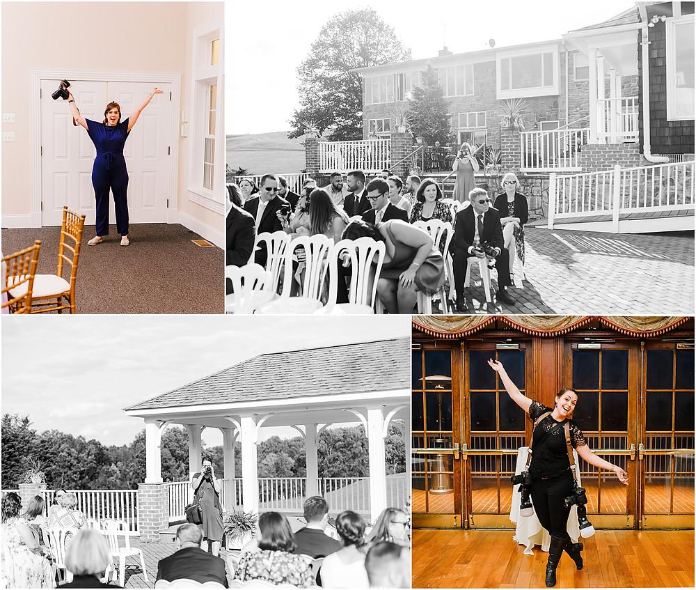 Morningside Inn Wedding Photographer Frederick Wedding Behind the scenes