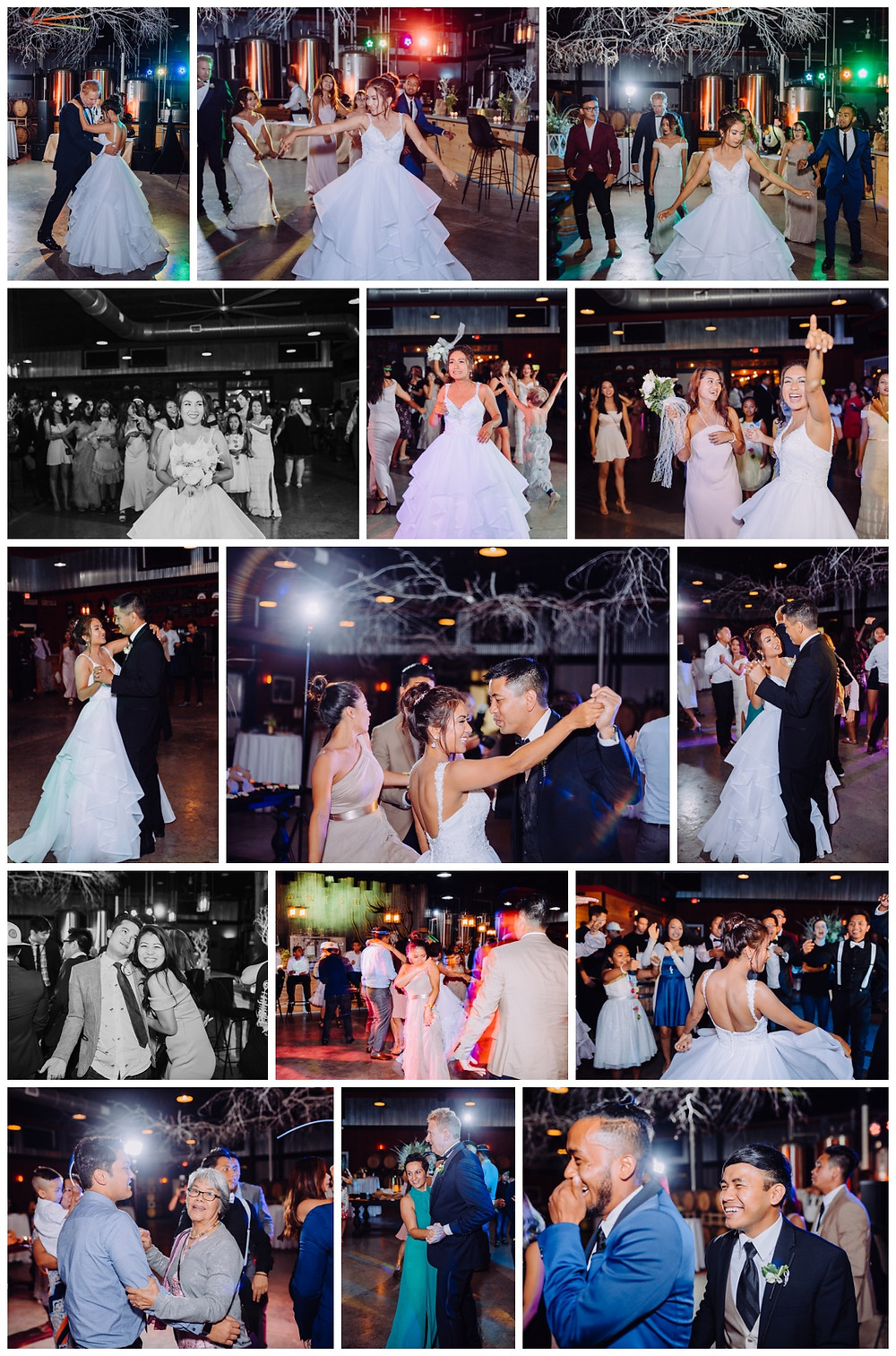Dancing! - Vanish Brewery wedding Leesburg - Frederick Wedding Photographer - Katherine Elizabeth Photography