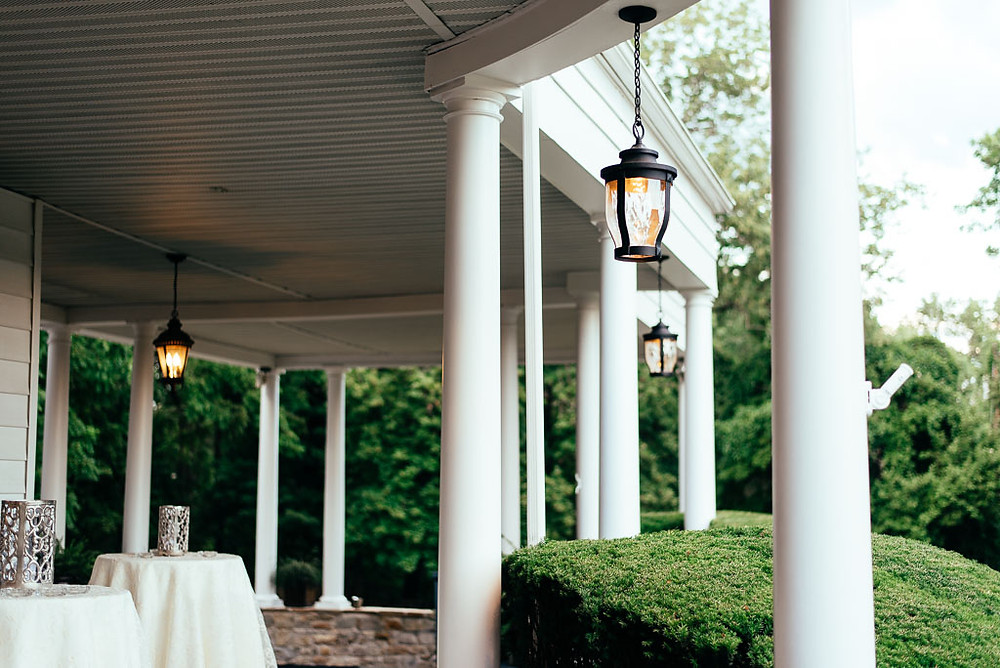 Porch at the Mansion at Valley Country Club