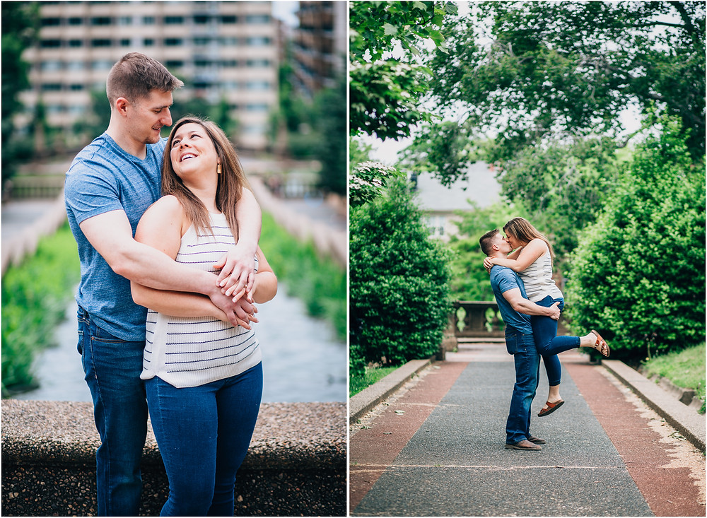 Meridian Hill Engagement - D.C Wedding Photography