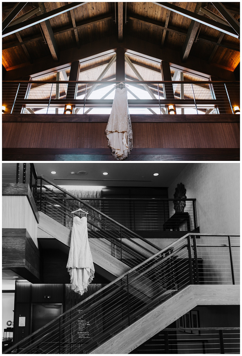 Wedding Gown at Liberty Mountain Resort - Katherine Elizabeth Photography