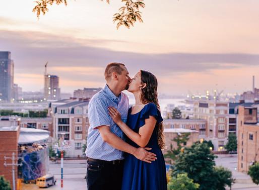 Federal Hill Engagement | Michaela + DJ | Baltimore Maryland Portrait Photographer