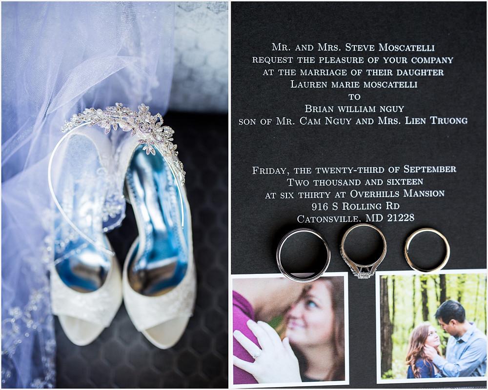 Wedding Details Baltimore Maryland