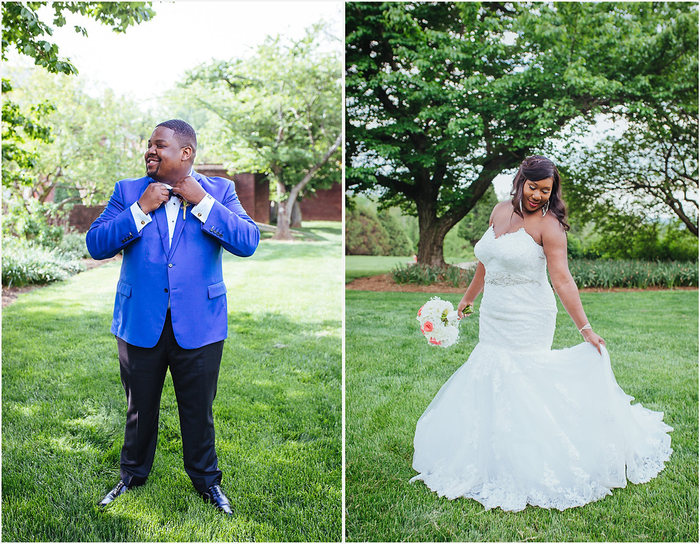 Bride and Groom - Lush Green - Annapolis Wedding Photography
