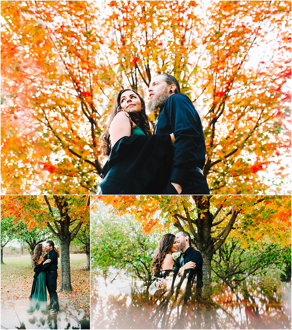 Kinder Farm Park Fall Portraits