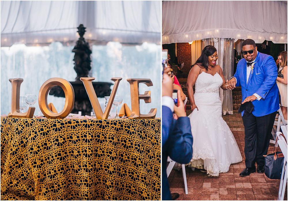 Reception Entrance - Baltimore Wedding Photography