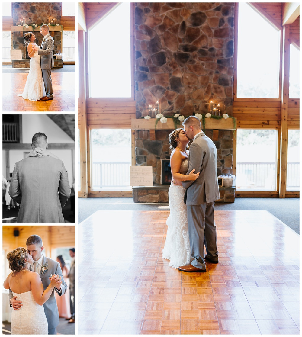 First Dance - Liberty Mountain Boulder Ridge Lodge Wedding - Maryland Wedding Photographer - Katherine Elizabeth Photography