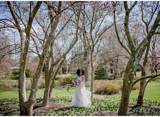 Spring Cherry Blossom Romance | Bridal Inspiration | Baltimore Wedding Photographer