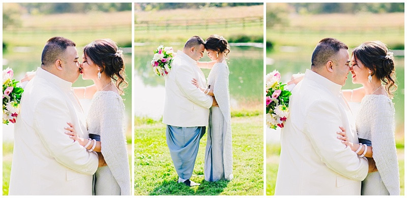 Virginia Wedding Photographer - Thai traditional portraits of Bride and Groom. Katherine Elizabeth Photography
