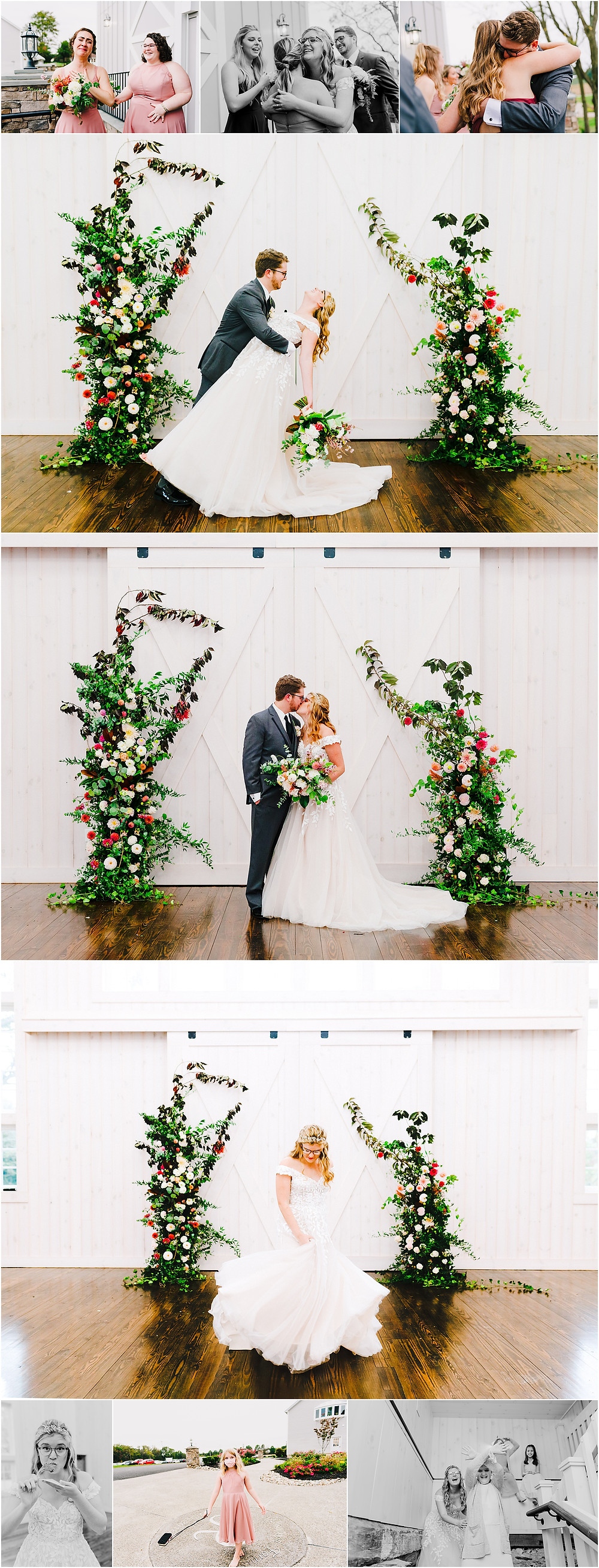 Rosewood Farms Wedding after the ceremony Baltimore Wedding Photographer