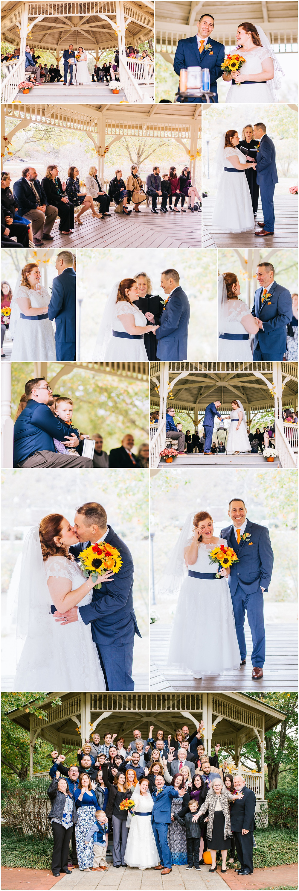 Intimate Wedding at Quiet Waters Park Annapolis Maryland