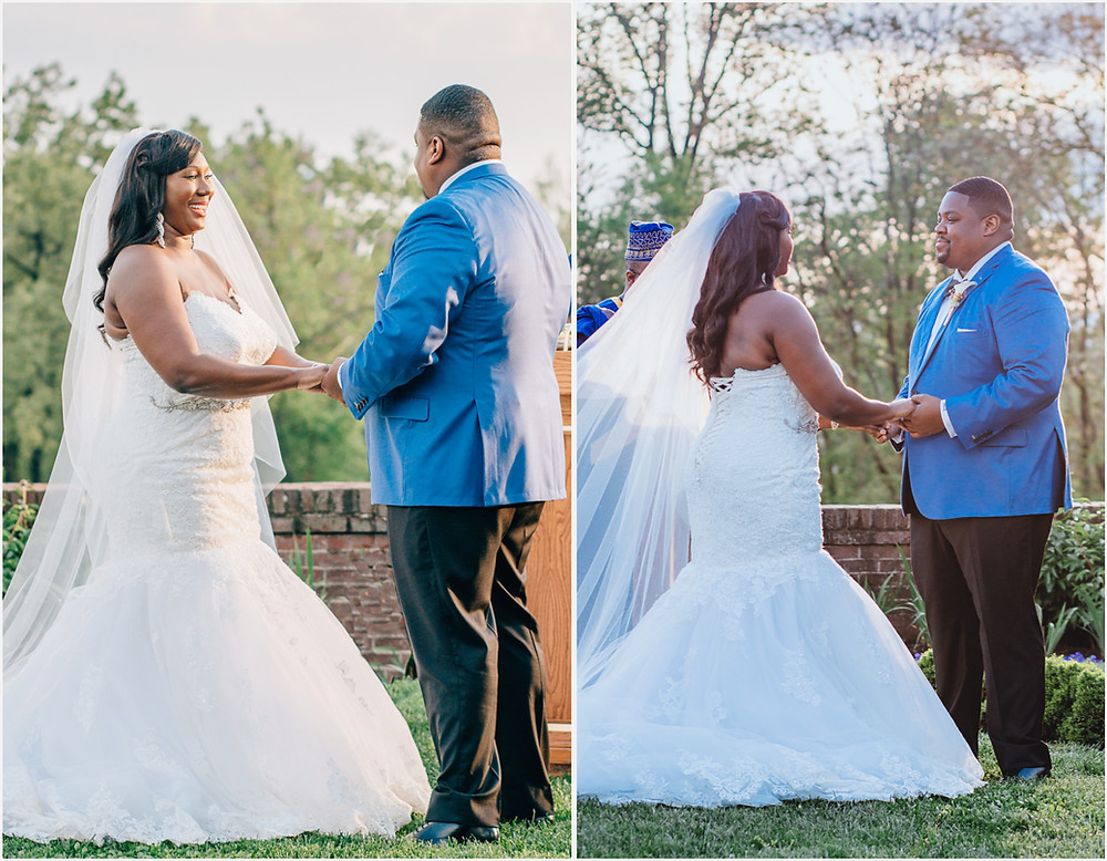 Oxon Hill Manor Ceremony - Maryland Wedding Photography