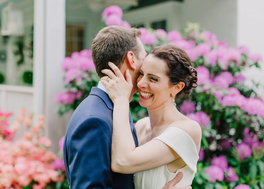 Intimate spring wedding in Maryland - Maryland Wedding Photographer