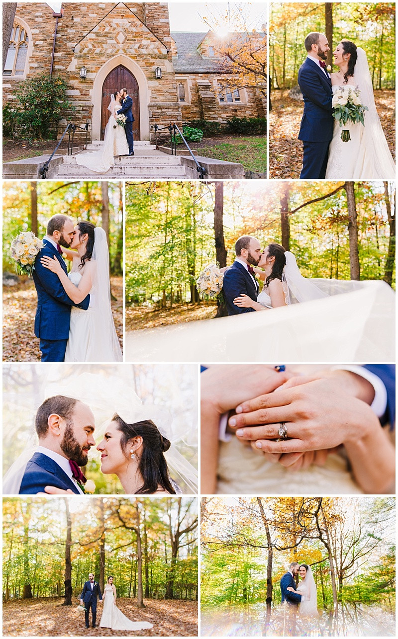 Washington DC Woods Wedding