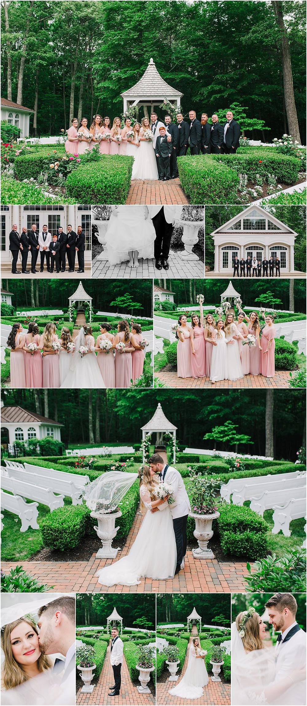 Lush Wedding Portraits - Private Estate Wedding - Annapolis Wedding Photography