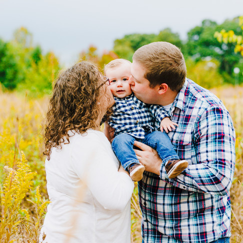 Kinder Farm Park Fall Portraits | Magill Family | Maryland Portrait Photographer