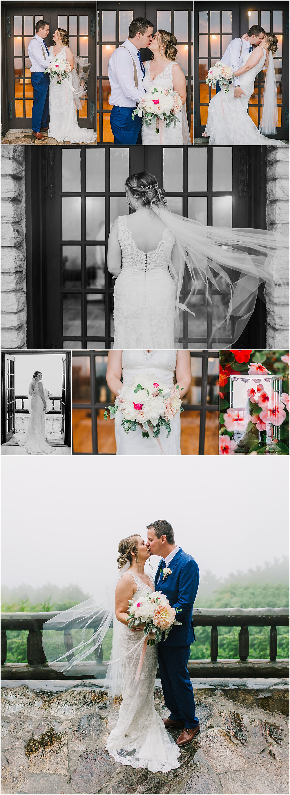Rainy Portraits at the Tea Room at Gambrill State Park - Frederick Wedding Photographer