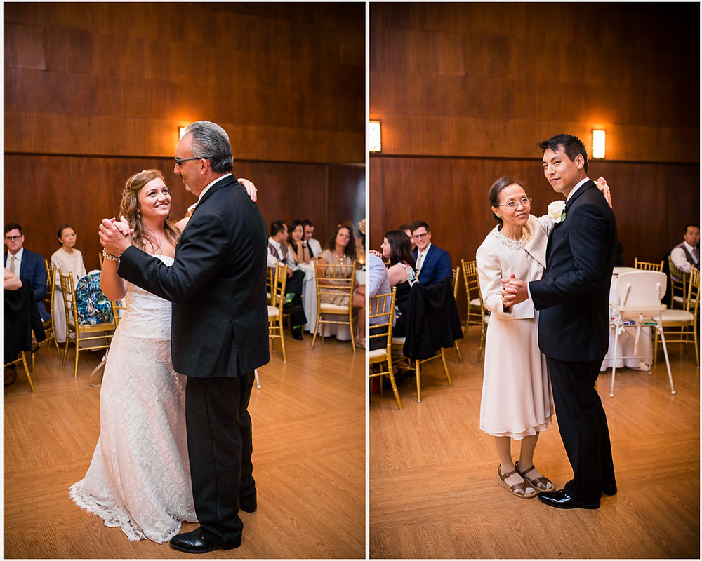 Parent Dances Overhills Mansion Reception Maryland Wedding Photographer